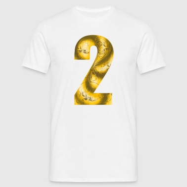 number two - T-shirt Homme
