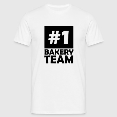 number one bakery team - Men's T-Shirt