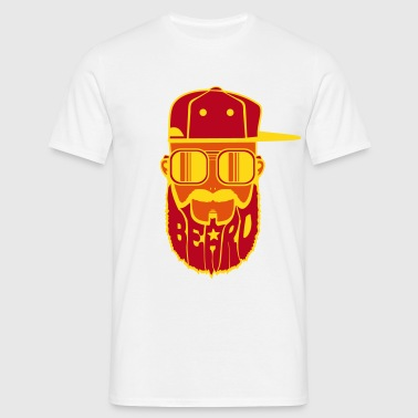 logo beard hiphop - T-shirt Homme