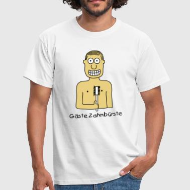 Guests Toothbrush - Men's T-Shirt