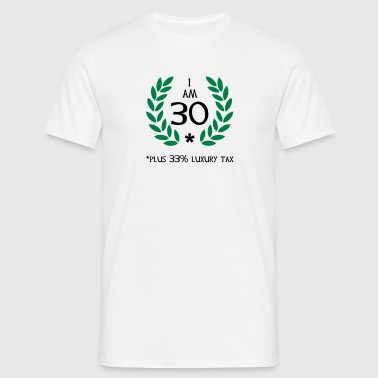40 - 30 plus tax - T-shirt herr