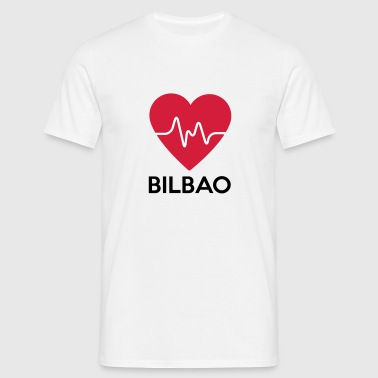 heart Bilbao - Men's T-Shirt