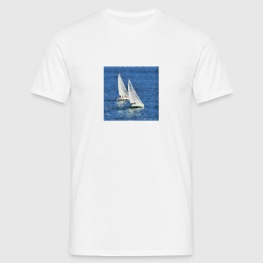 voiles blanches. - T-shirt Homme