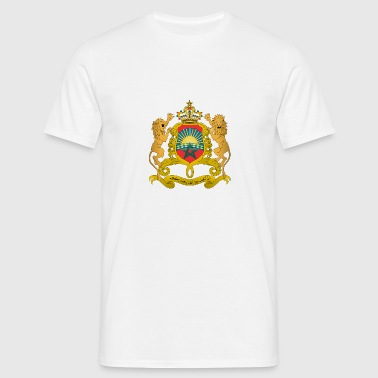 Morocco Coat of Arms - Men's T-Shirt