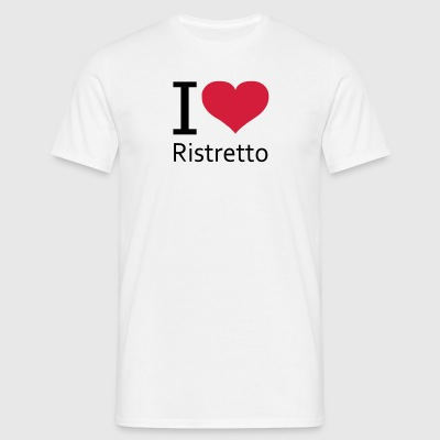 svgHeartRistretto - Mannen T-shirt