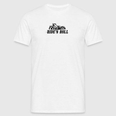 Ride'n rulle - Herre-T-shirt