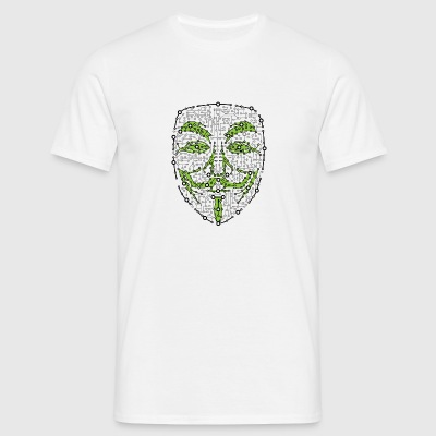 Digital Anonym Version 01 - Herre-T-shirt