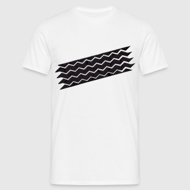 tyre mark - Men's T-Shirt