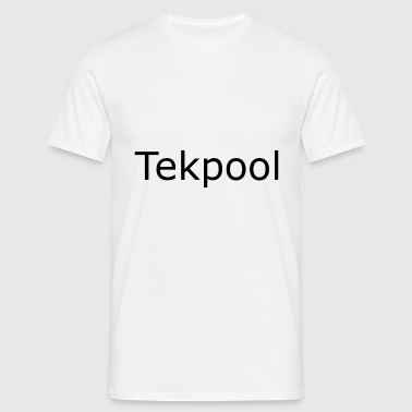 Tekpool - Herre-T-shirt