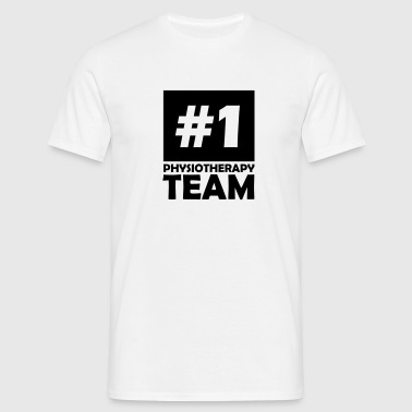 number one physiotherapy team - Men's T-Shirt