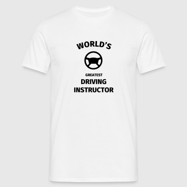 World's Greatest Driving Instructor - Men's T-Shirt
