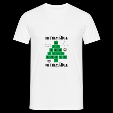 6061912 131667689 chemistree orig - T-skjorte for menn