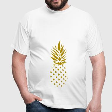 ananas Or - T-shirt Homme