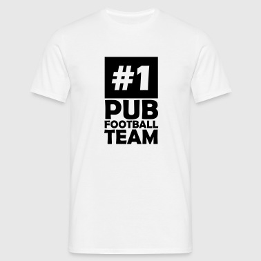 number one pub football team - Men's T-Shirt