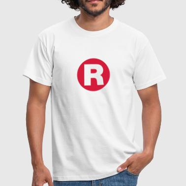 Registriert | Registered - Men's T-Shirt