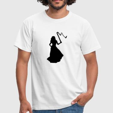 Bride, Woman & Whip - T-shirt Homme
