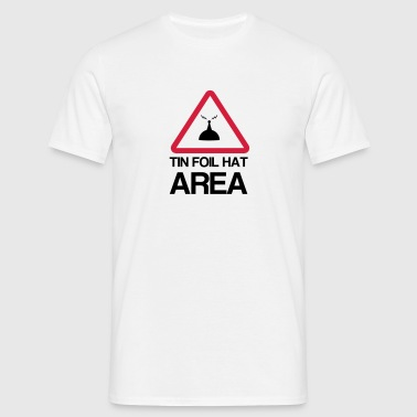 Tin Foil Hat Area - Men's T-Shirt