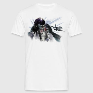 Fighter pilot - Men's T-Shirt
