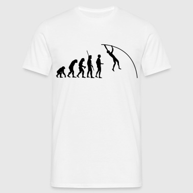 Pole Vault Evolution  - Men's T-Shirt