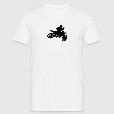 Motocross Bike Whip - Men's T-Shirt