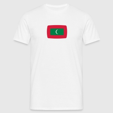 Maldives flag Maldives flag Maldivian Divehi raajie  - Men's T-Shirt