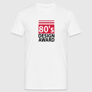 80s design award - birthday - Men's T-Shirt