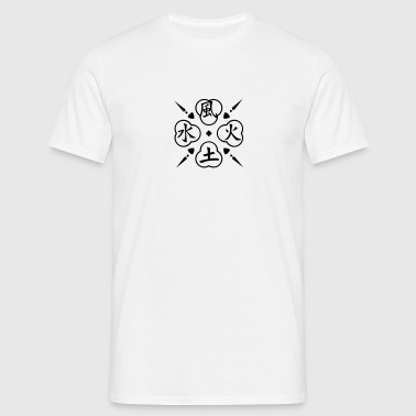 Quatre éléments / 4 elements (1c) - T-shirt Homme