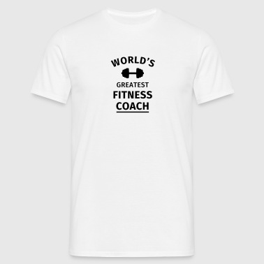 World's Greatest Fitness Coach - Men's T-Shirt