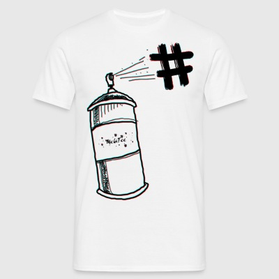 spray - Herre-T-shirt