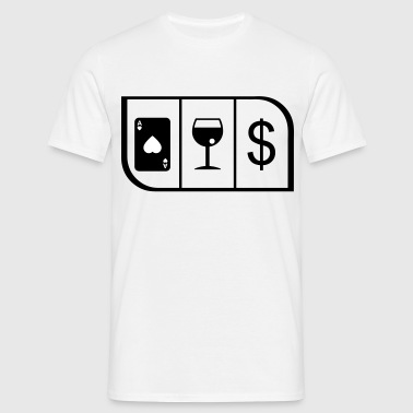SENSIBLE GAMBLER - Men's T-Shirt