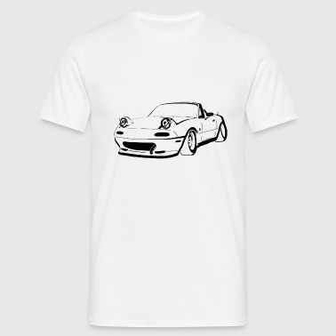 cool  mx5 mk1 3d - Men's T-Shirt
