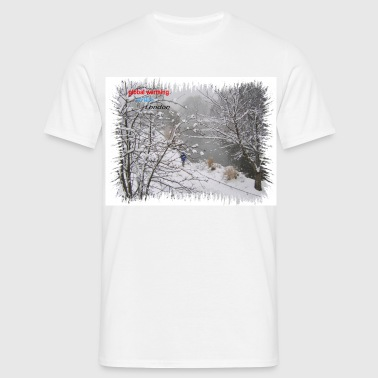 A winter event - Men's T-Shirt