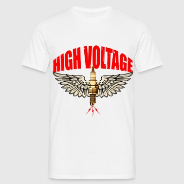 high voltage - T-shirt Homme