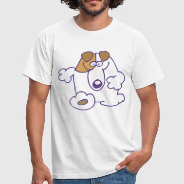 Smiling Cartoon Dog by Cheerful Madness!! online shop - Men's T-Shirt