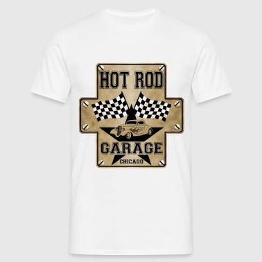 vintage hot rod - T-shirt Homme