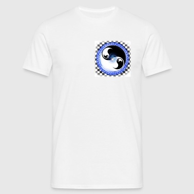 ying yang - Men's T-Shirt