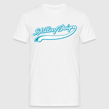 Curly text - Men's T-Shirt