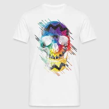 Geometric Skull - Men's T-Shirt