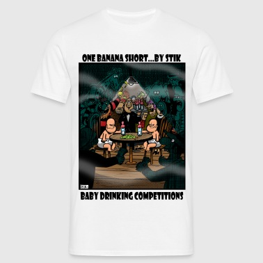 Baby Drinking Competition - Men's T-Shirt
