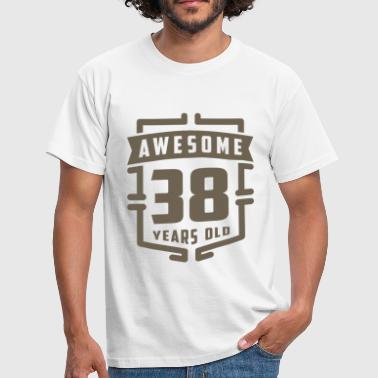 Awesome 38 Years Old - Men's T-Shirt