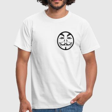 Anonymous coin - Männer T-Shirt