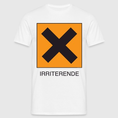 Irriterende - T-skjorte for menn