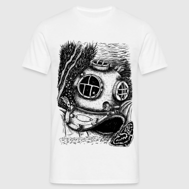 underwater - Men's T-Shirt