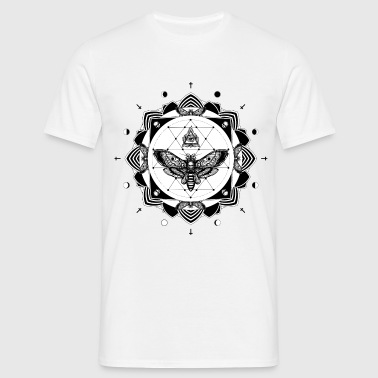 tattoo mandala - Men's T-Shirt