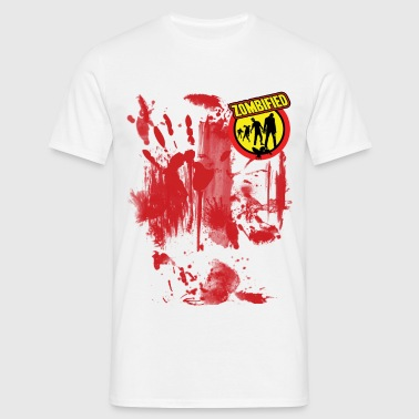 zombiefied bloody - Men's T-Shirt