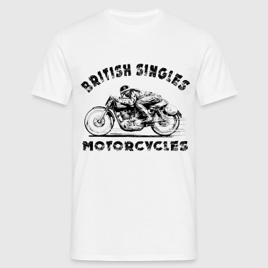 british motorcycles - T-shirt Homme