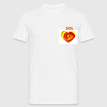 SOL BLUE - Men's T-Shirt