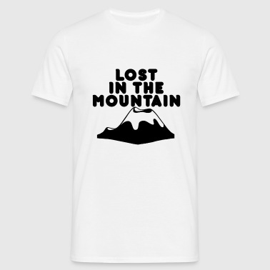 lost in the mountain - Männer T-Shirt