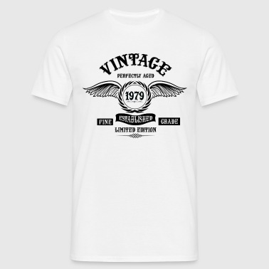 Vintage Perfectly Aged 1979 - Men's T-Shirt