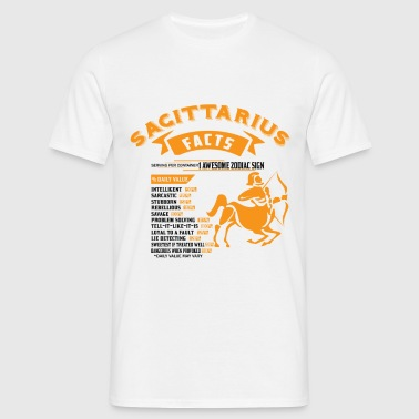 Sagittarius Facts - Men's T-Shirt